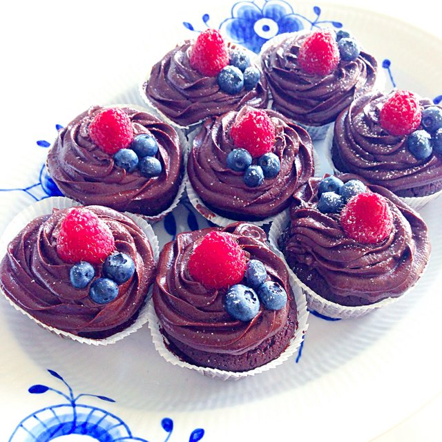 Chokolade Cupcakes – created on the CHEF CHEF app for iOS