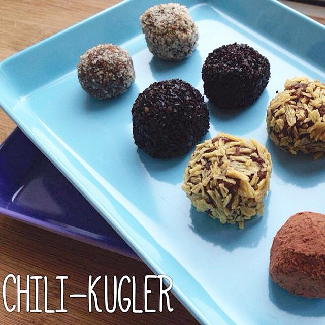 Chili-kugler – created on the CHEF CHEF app for iOS