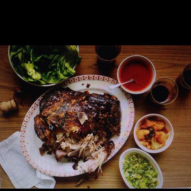 Momofuku's Bo Ssam – created on the CHEF CHEF app for iOS
