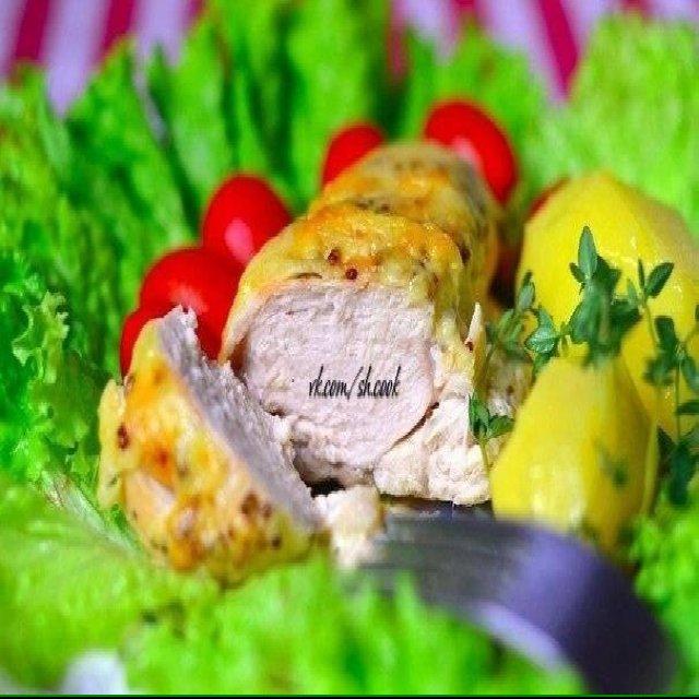 Куриное филе в сливочном соусе –created on the CHEF CHEF app for iOS