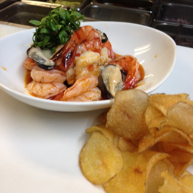 Mexican ceviche . –created on the CHEF CHEF app for iOS