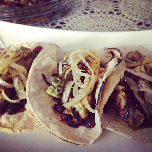 Octopus tacos. –created on the CHEF CHEF app for iOS