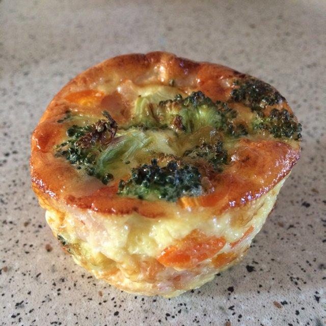 Grøntsags muffins