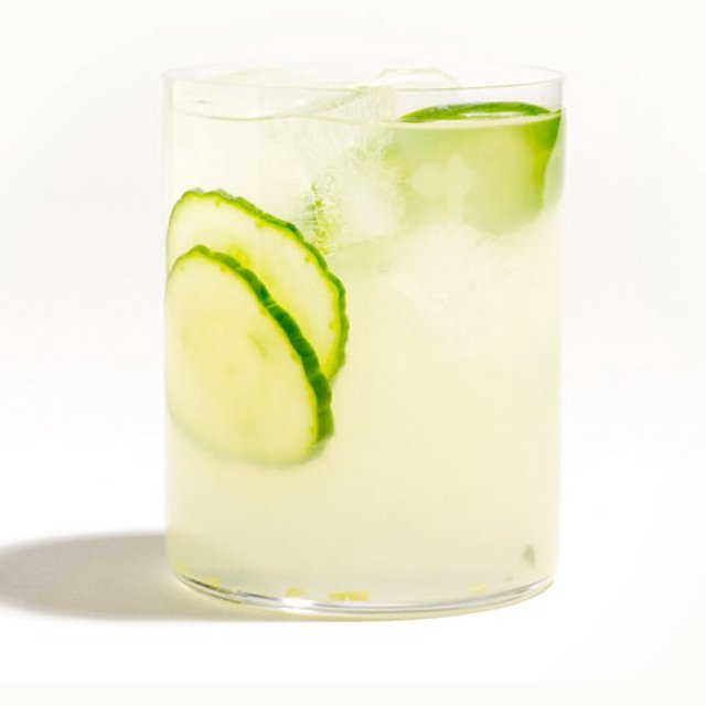 Spicy cucumber margaritas –created on the CHEF CHEF app for iOS