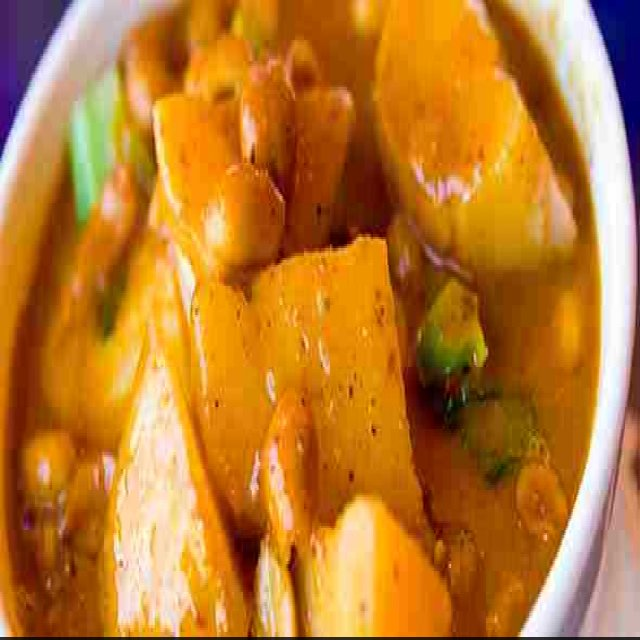 Chicken massaman curry – created on the CHEF CHEF app for iOS