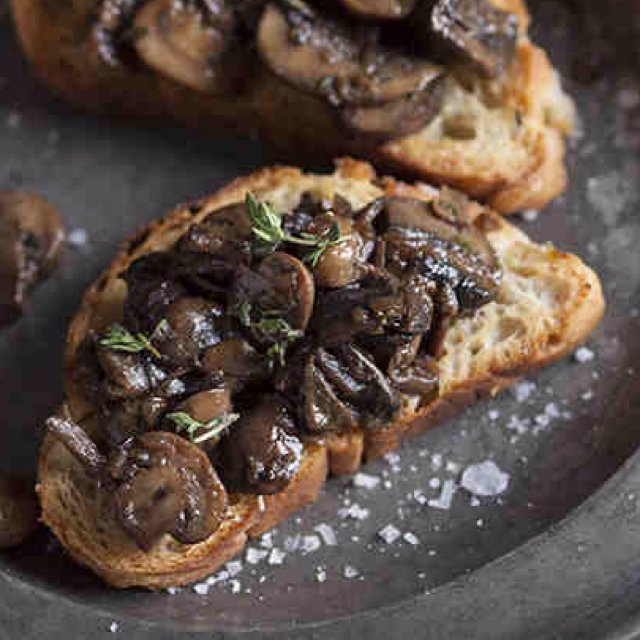 Mushroom Ragout – created on the CHEF CHEF app for iOS