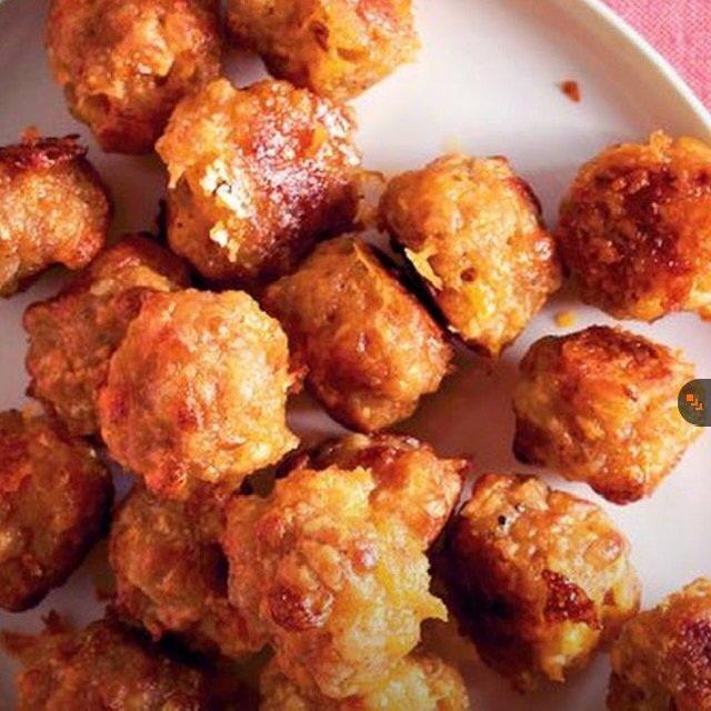 Sausage Cheddar Balls  –created on the CHEF CHEF app for iOS