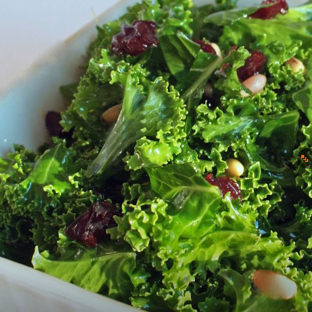Kale Salad  – created on the CHEF CHEF app for iOS