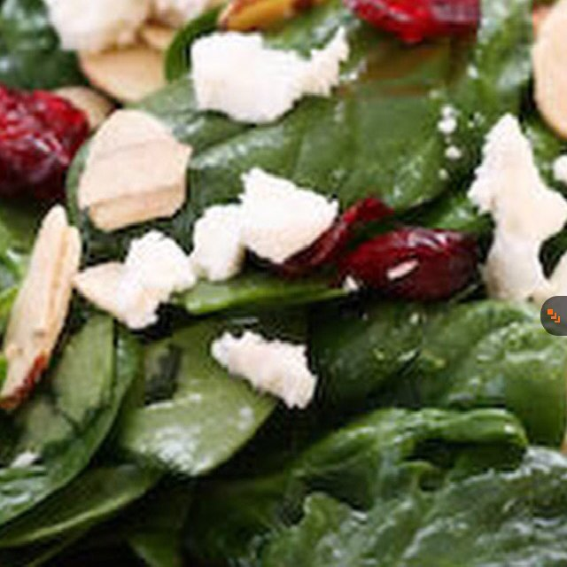 Spinach Salad – created on the CHEF CHEF app for iOS
