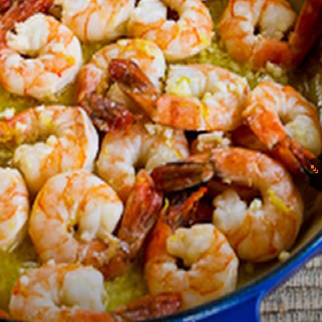 Garlic & Lemon Shrimp