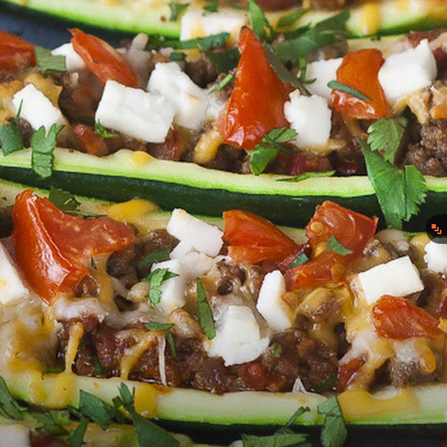 Stuffed Zucchini – created on the CHEF CHEF app for iOS