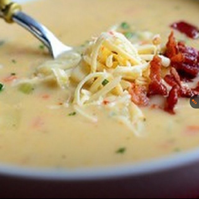 Potato Soup –created on the CHEF CHEF app for iOS