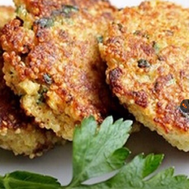 Spring Herb Quinoa Patties – created on the CHEF CHEF app for iOS