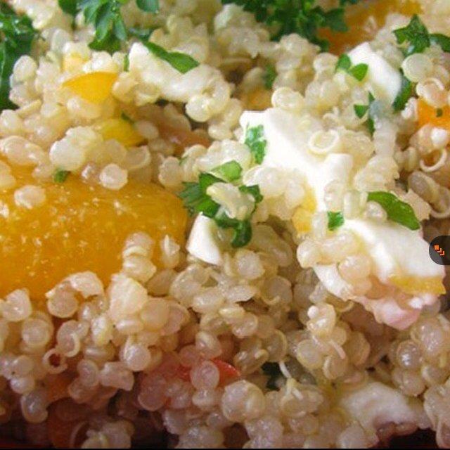 Sesame Mandarin Quinoa Salad –created on the CHEF CHEF app for iOS