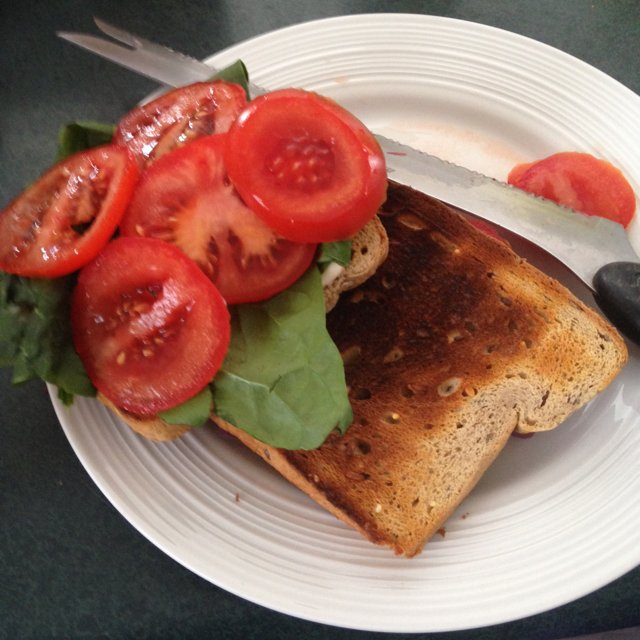 Tomato sandwich  –created on the CHEF CHEF app for iOS