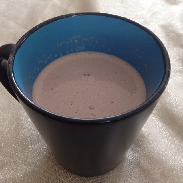 Hot chocolate –created on the CHEF CHEF app for iOS
