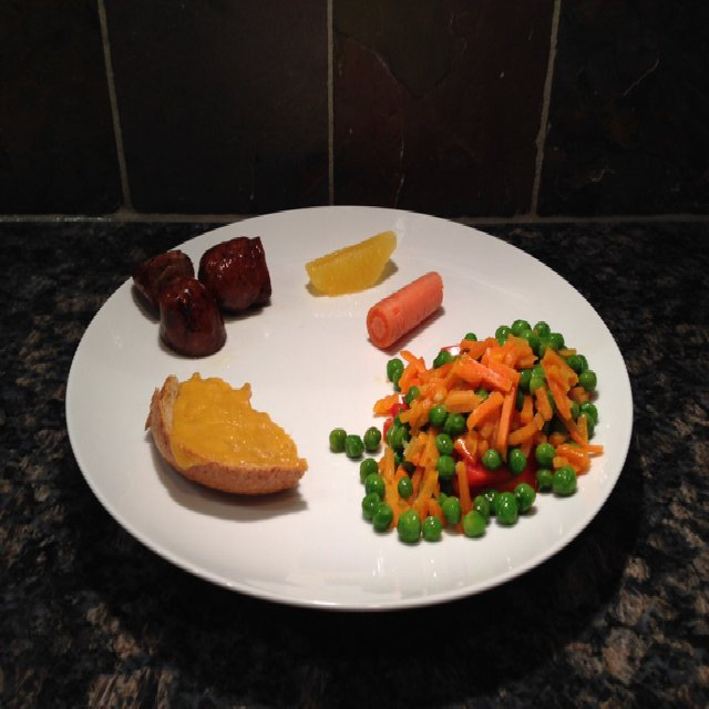 Peas and Carrots – created on the CHEF CHEF app for iOS