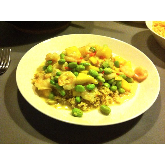Wok med tigereejer  – created on the CHEF CHEF app for iOS