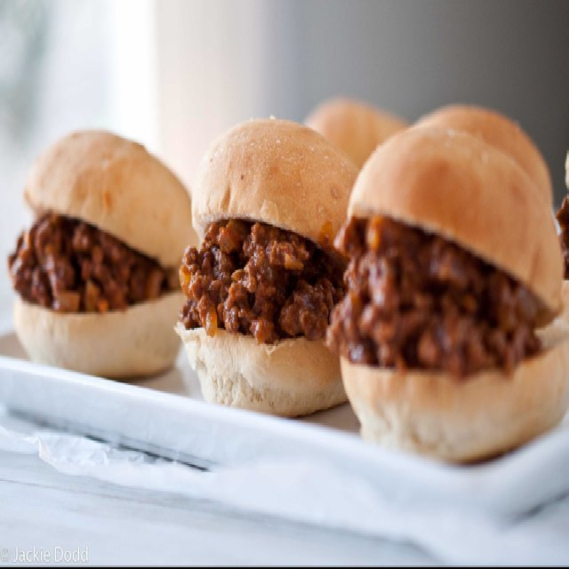 Sloppy Joes – created on the CHEF CHEF app for iOS