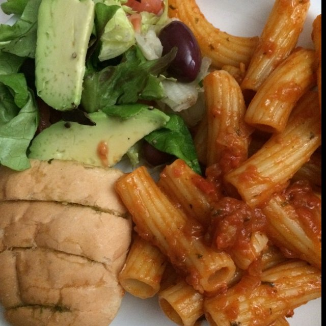 Tomato rigatoni rrrr – created on the CHEF CHEF app for iOS