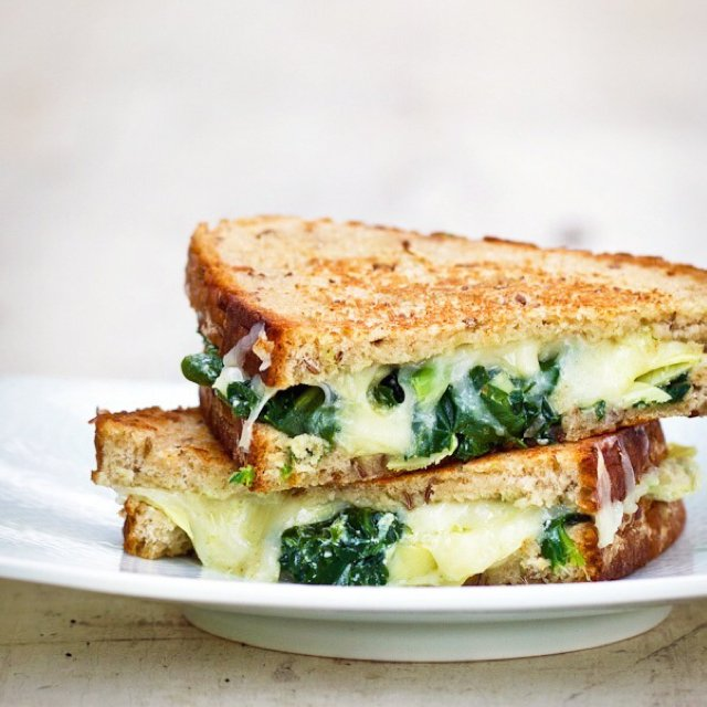 Grilled Che: Spinach/Artichoke – created on the CHEF CHEF app for iOS