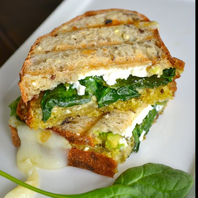 Grilled Che: Avocado Goat Che –created on the CHEF CHEF app for iOS