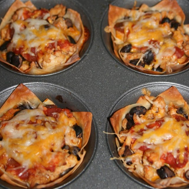 Taco Cupcakes –created on the CHEF CHEF app for iOS
