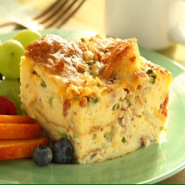 Egg Strata – created on the CHEF CHEF app for iOS