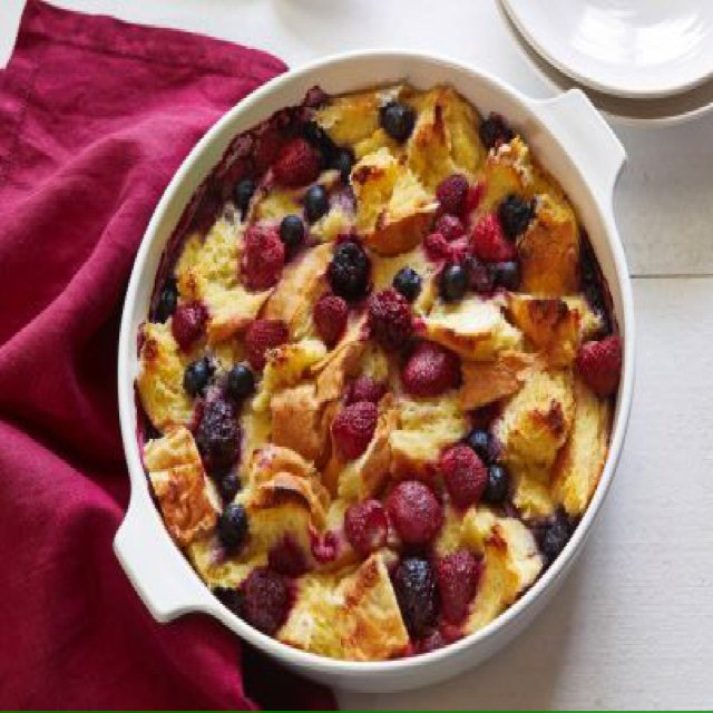Egg Strata Morning Berry