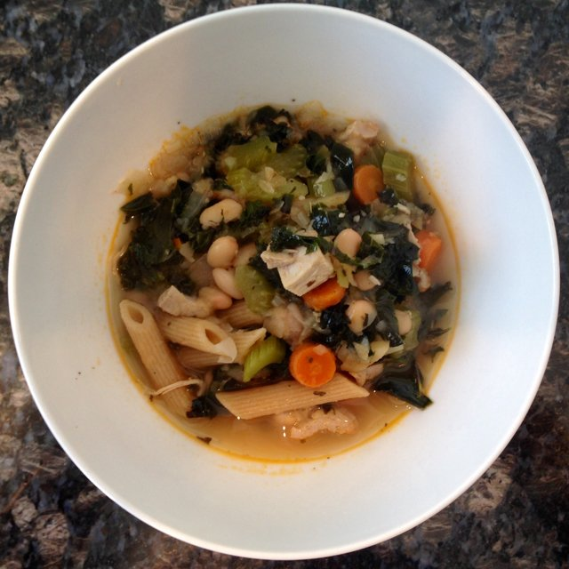 Soup Root Vegetable & Chicken –created on the CHEF CHEF app for iOS