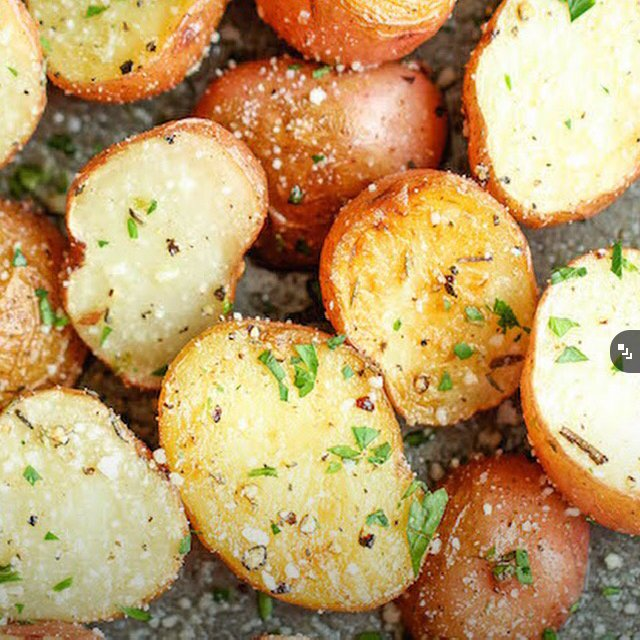 Garlic Parmesan Potatoes