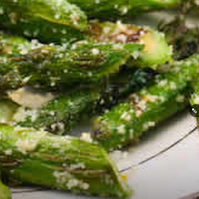 Asparagus & Parmesan  – created on the CHEF CHEF app for iOS