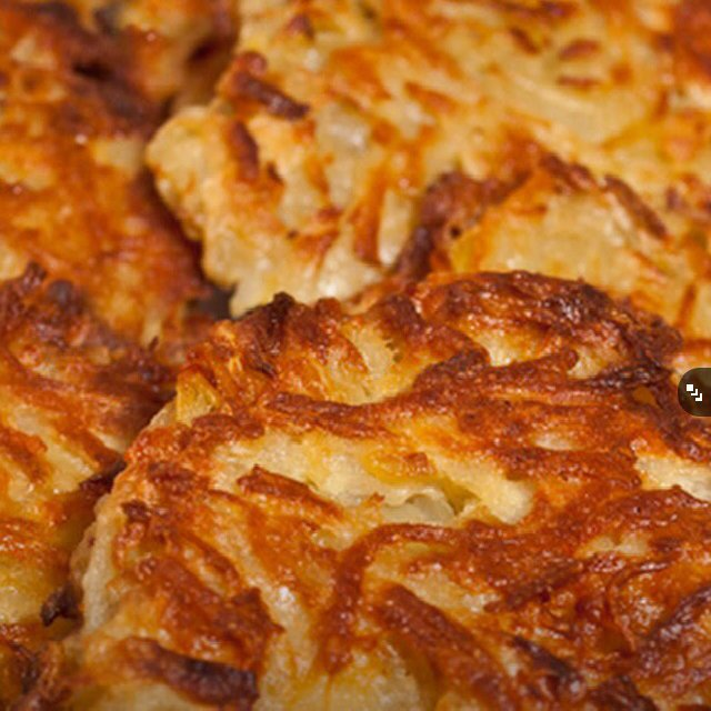 Potato Latkas –created on the CHEF CHEF app for iOS