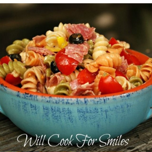 Pepperoni Pasta Salads  –created on the CHEF CHEF app for iOS