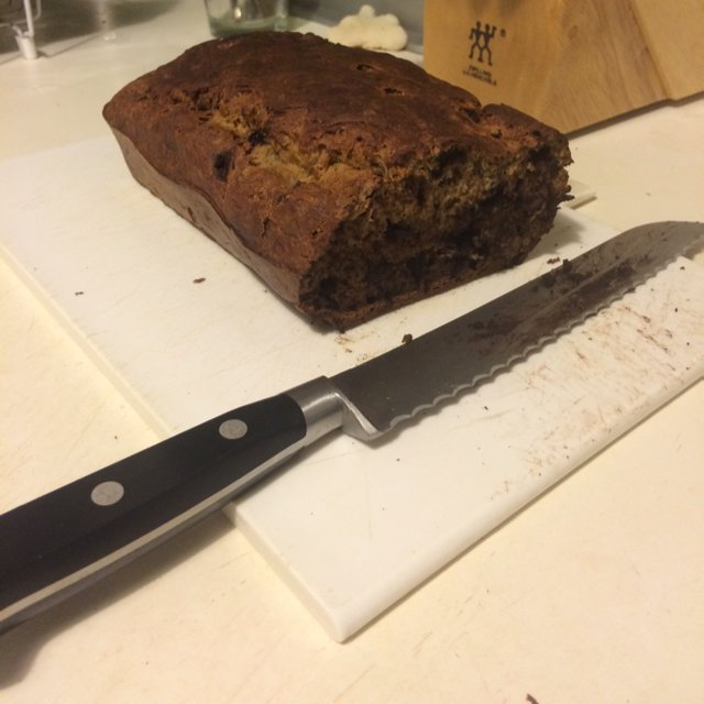 Gluten-free banana bread  – created on the CHEF CHEF app for iOS