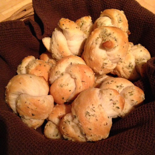 Garlic Knots – created on the CHEF CHEF app for iOS