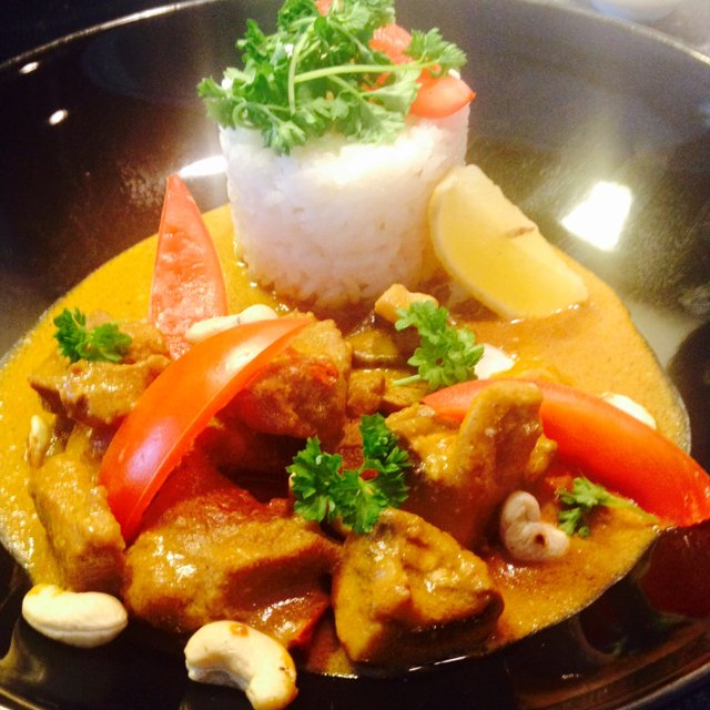Korma very creamy curry –created on the CHEF CHEF app for iOS
