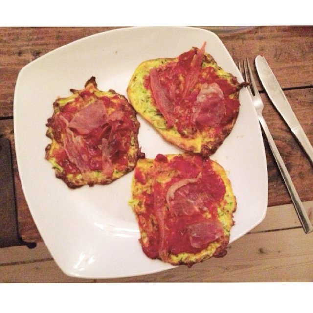 Zucchini Pizza (Gluten-Free) –created on the CHEF CHEF app for iOS