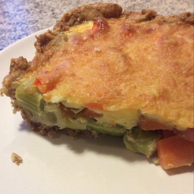 Grøntsagstærte