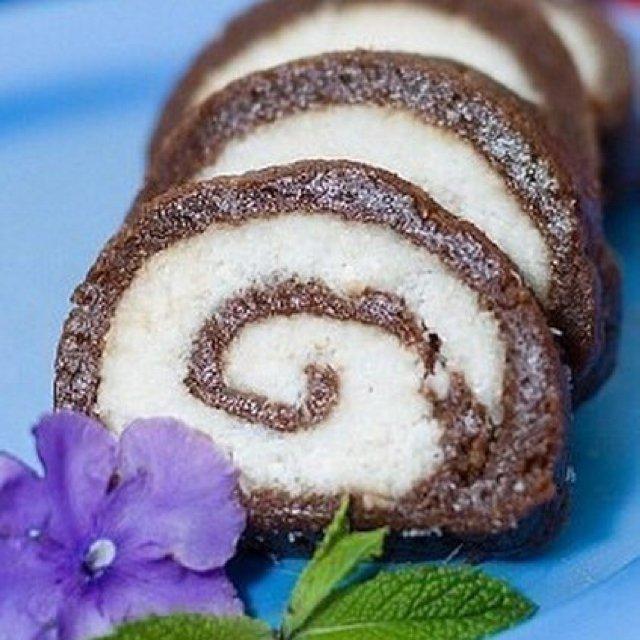 Рулет из печенья без выпечки рецепты с пошагово в