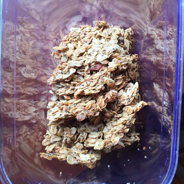 Granola –created on the CHEF CHEF app for iOS