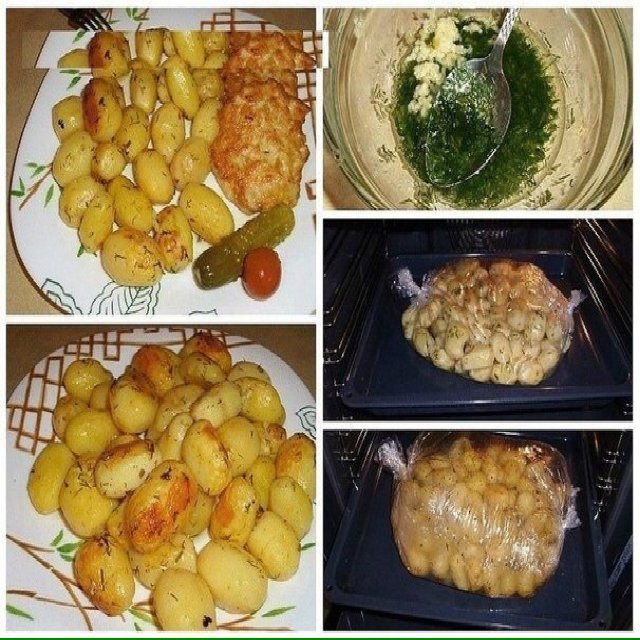 Side Dish - Baked Potatoes – created on the CHEF CHEF app for iOS