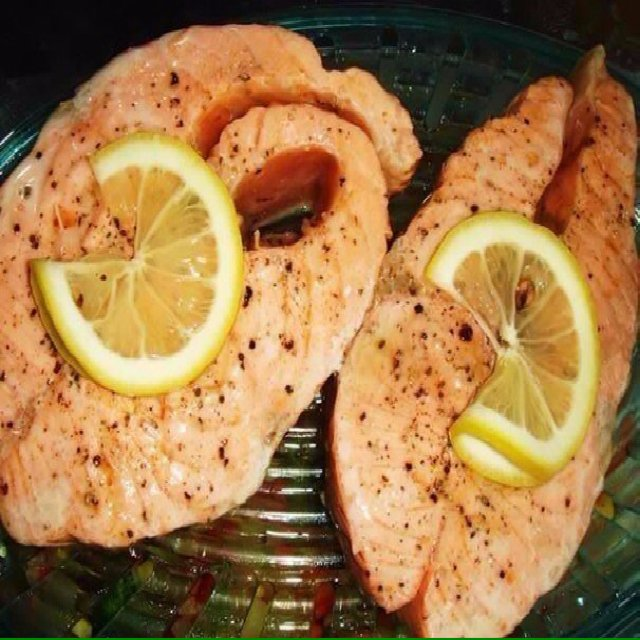 Dinner - Fish - Steamed Salmon