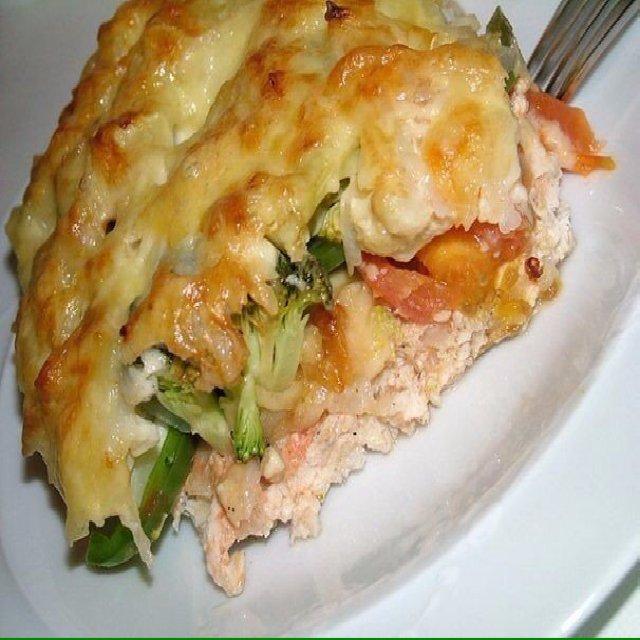 Dinner - Chicken - Запеканка