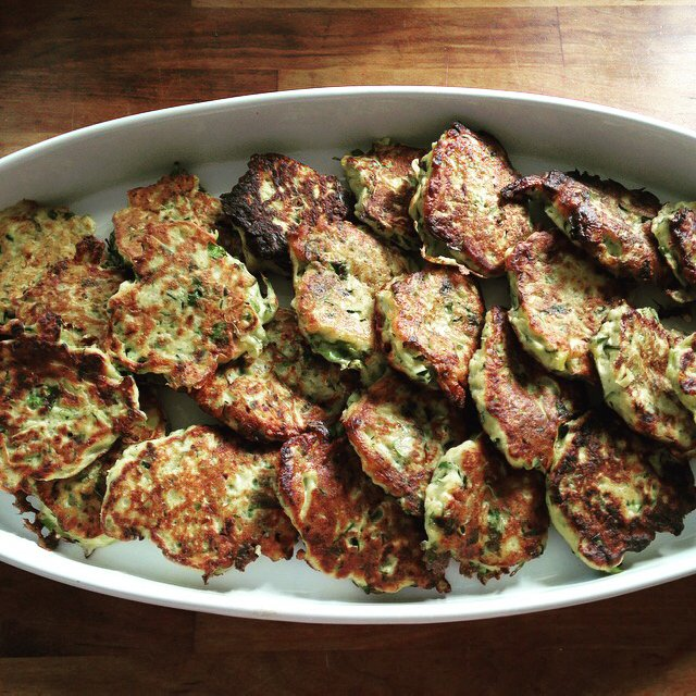 Zucchini Fritters – created on the CHEF CHEF app for iOS