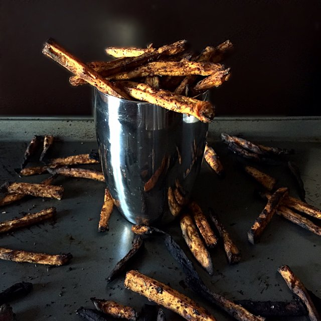 Sweet Potato Fries – created on the CHEF CHEF app for iOS