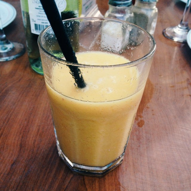 Fersken smoothie  – created on the CHEF CHEF app for iOS