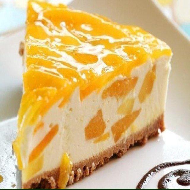 Dessert - Торт Желе с творогом