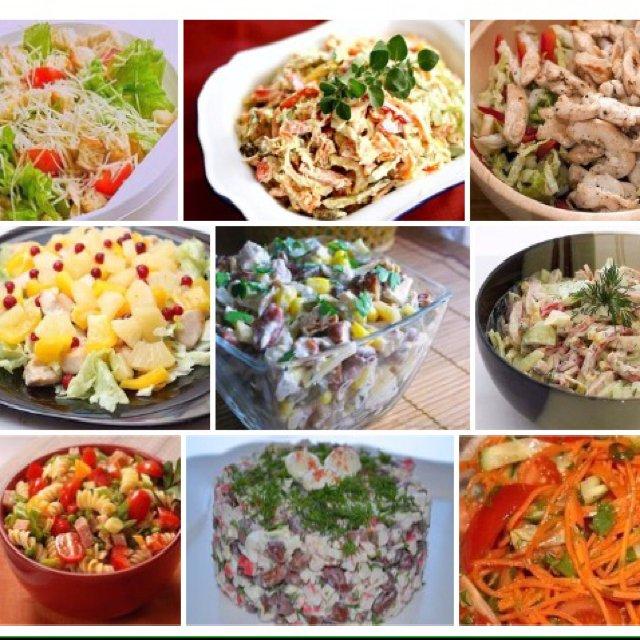 9 вкуснейших салатов