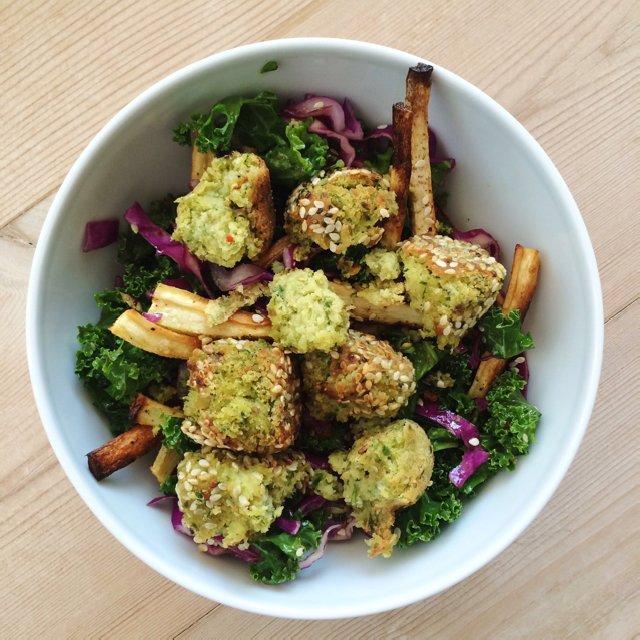 Fallafel salat